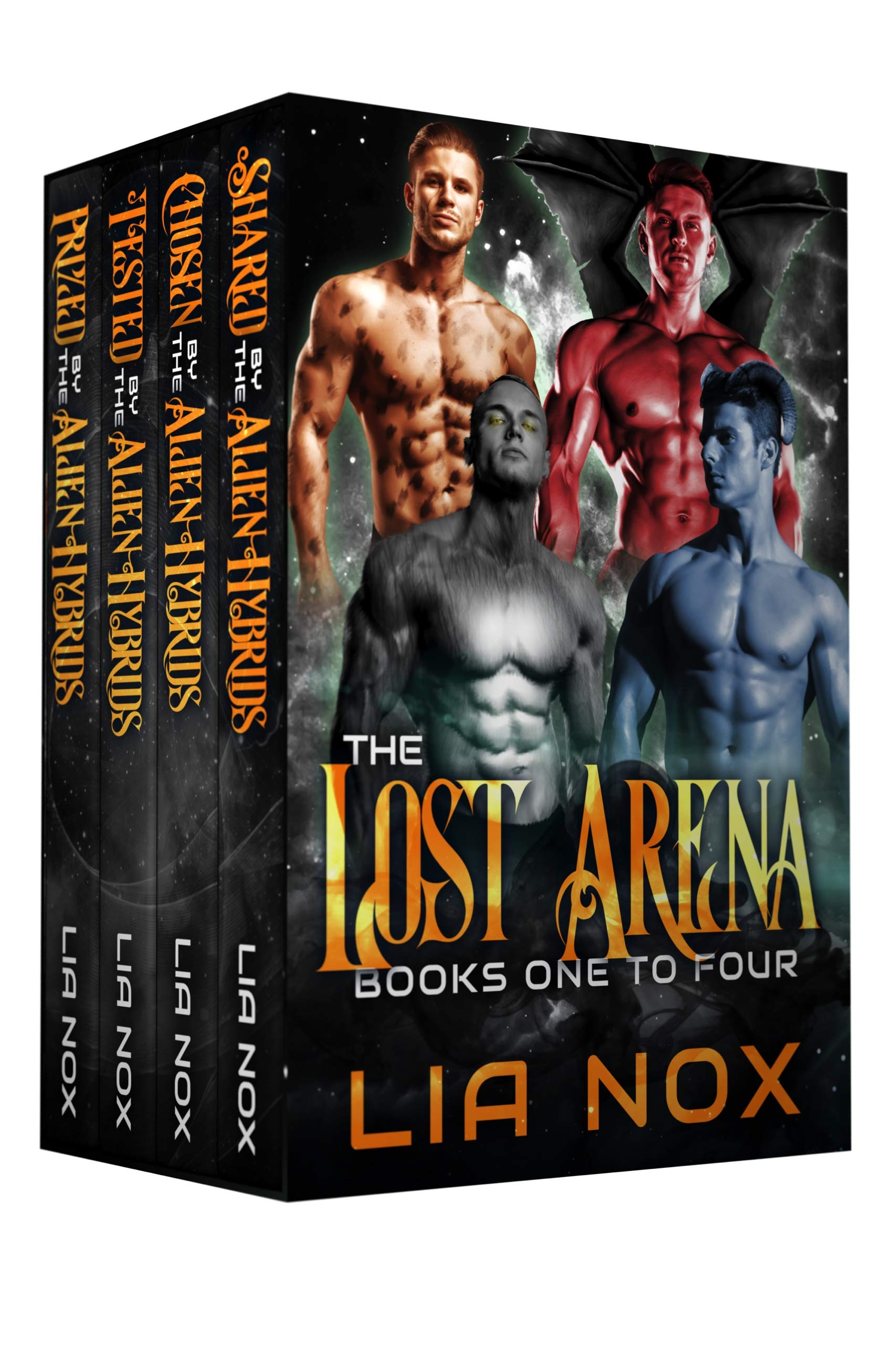 The Lost Arena: Alien Warrior Box Set: Shared by the Alien Hybrids, Chosen by the Alien Hybrids, Tested by the Alien Hybrids, Prized by the Alien Hybrids