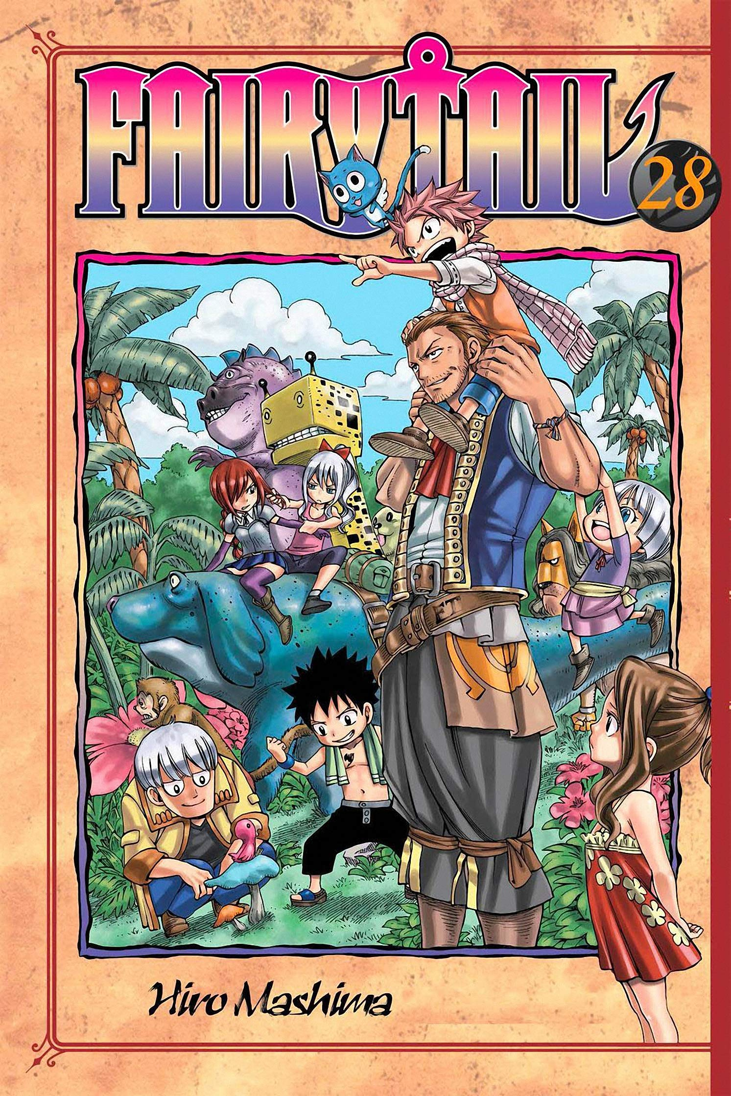 Fair: Tail - Book 28 Includes Vol 55 - 56 - Great Fairy Fantasy Action Graphic Novel Manga For Adults, Teenagers, Kids, Manga Lover