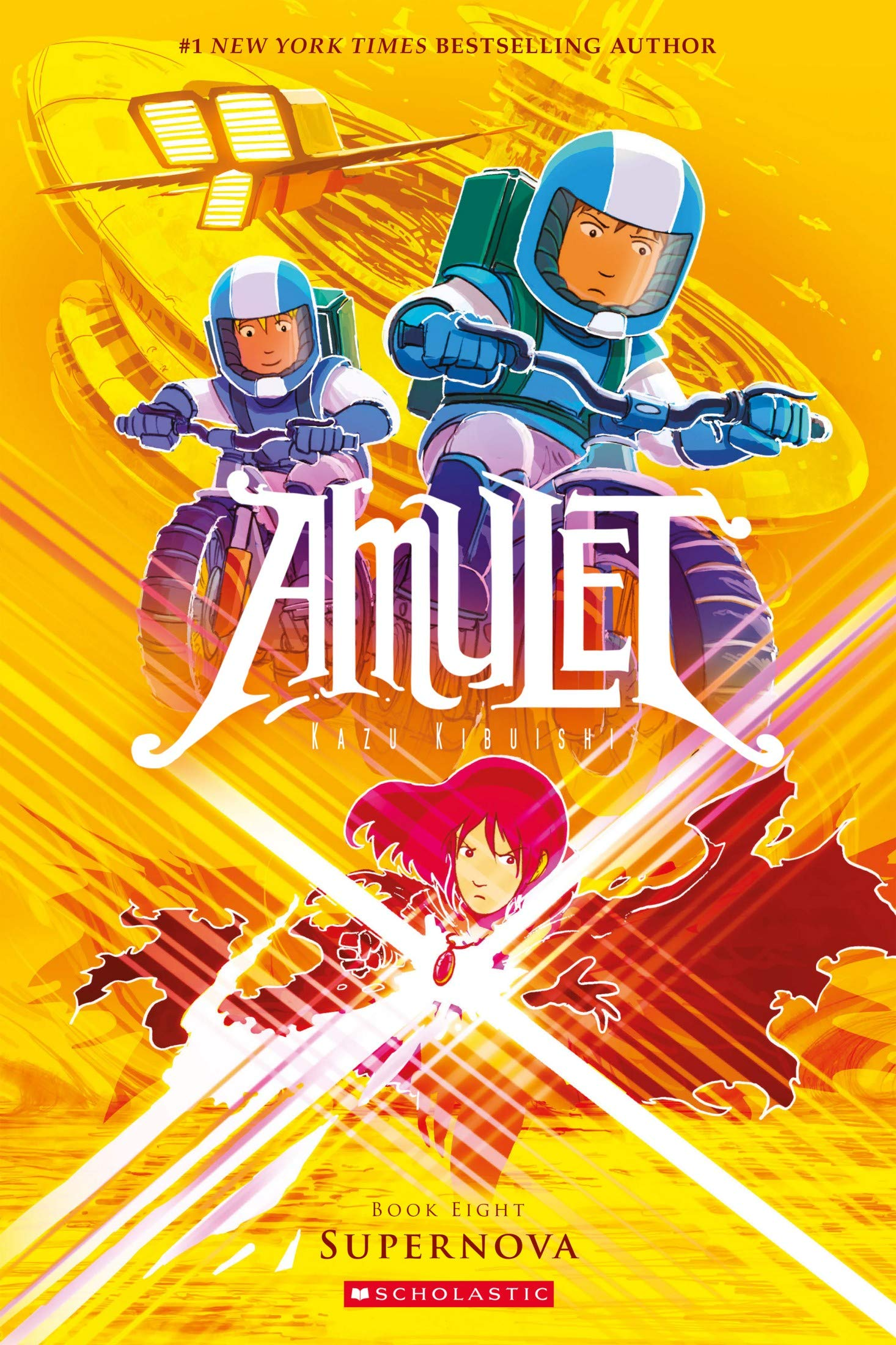Amul: Vol 8 - Amulet Great Comic Graphic Novels For Young & Teens , Adults