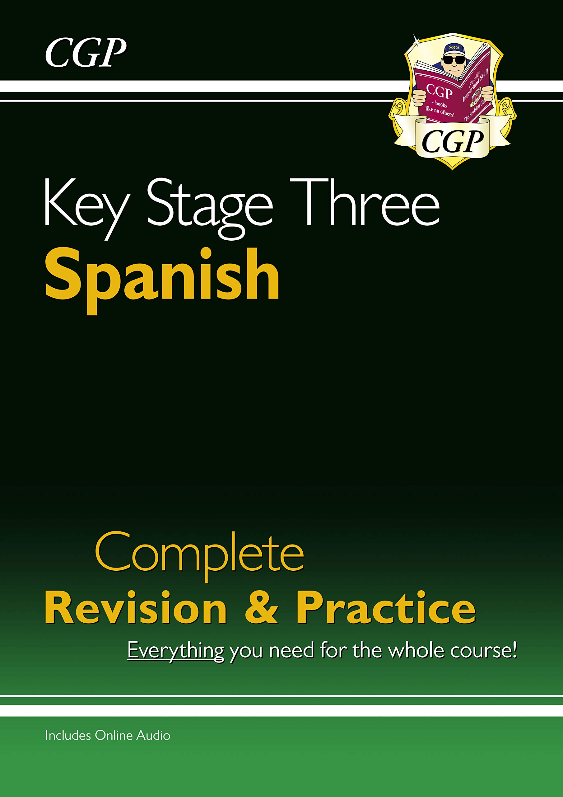 New KS3 Spanish Complete Revision & Practice with Free Online Audio (CGP KS3 Languages)