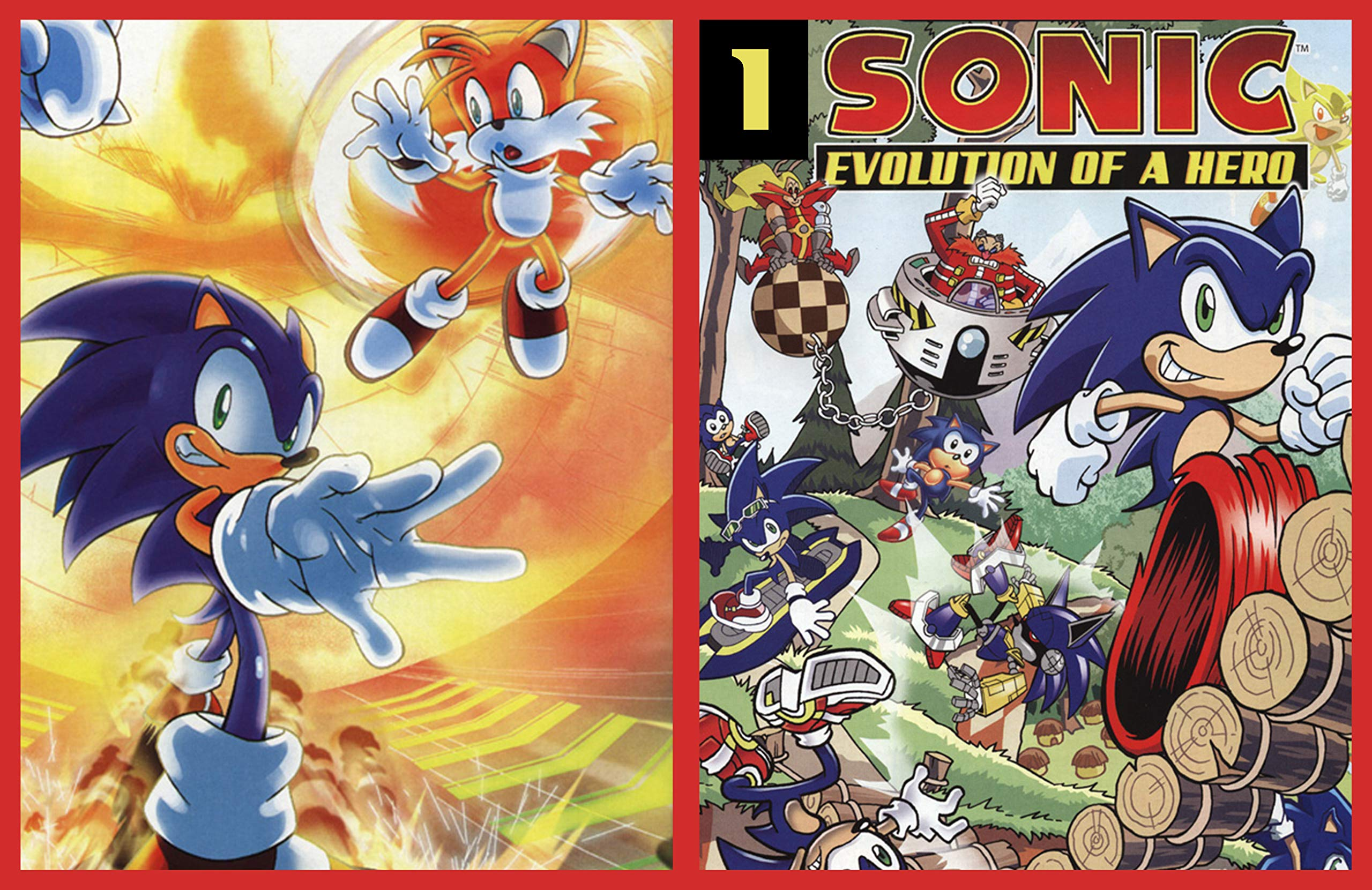 Sonic: The Hedgehog Sonic Free Comic Book #1