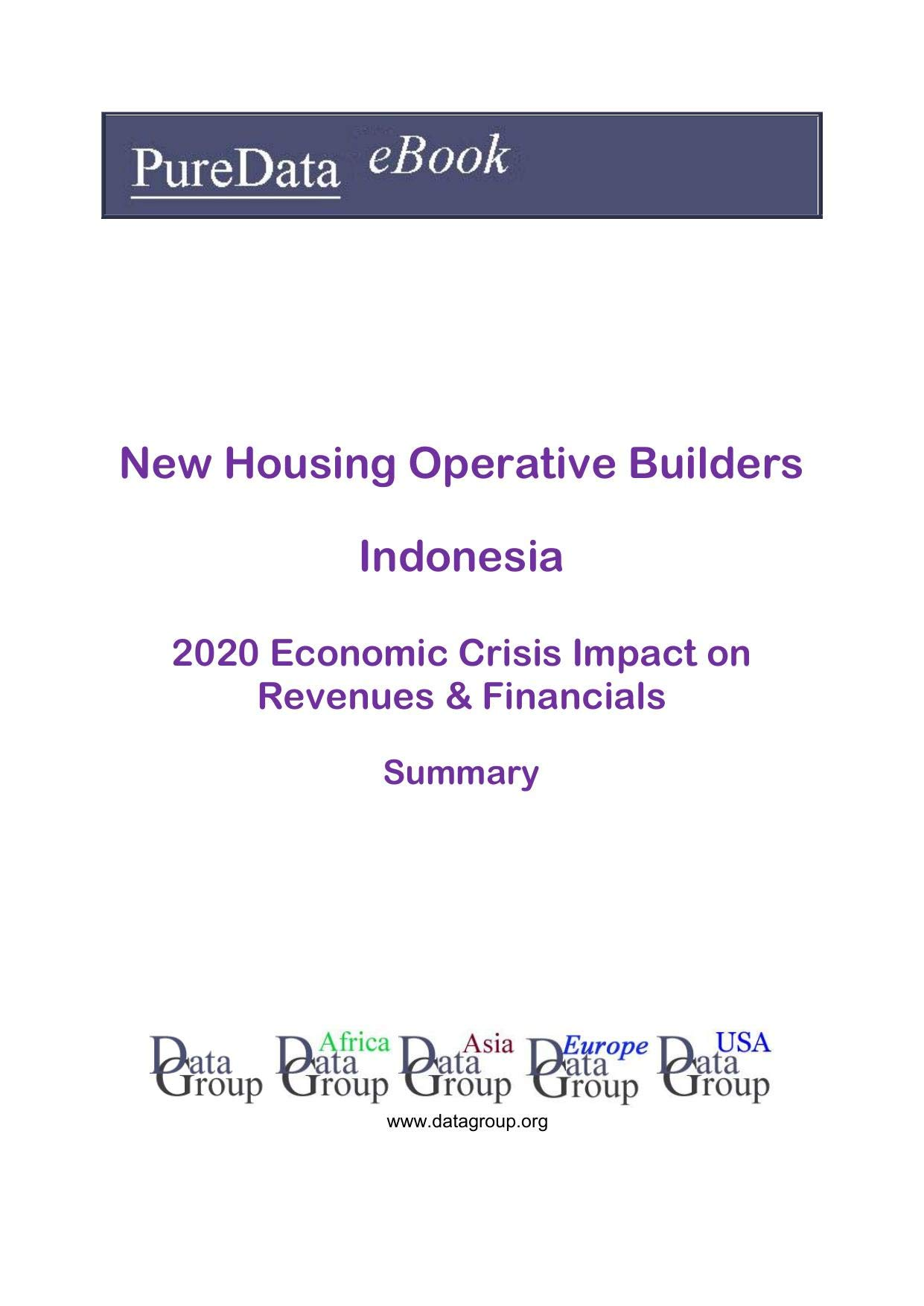 New Housing Operative Builders Indonesia Summary: 2020 Economic Crisis Impact on Revenues & Financials