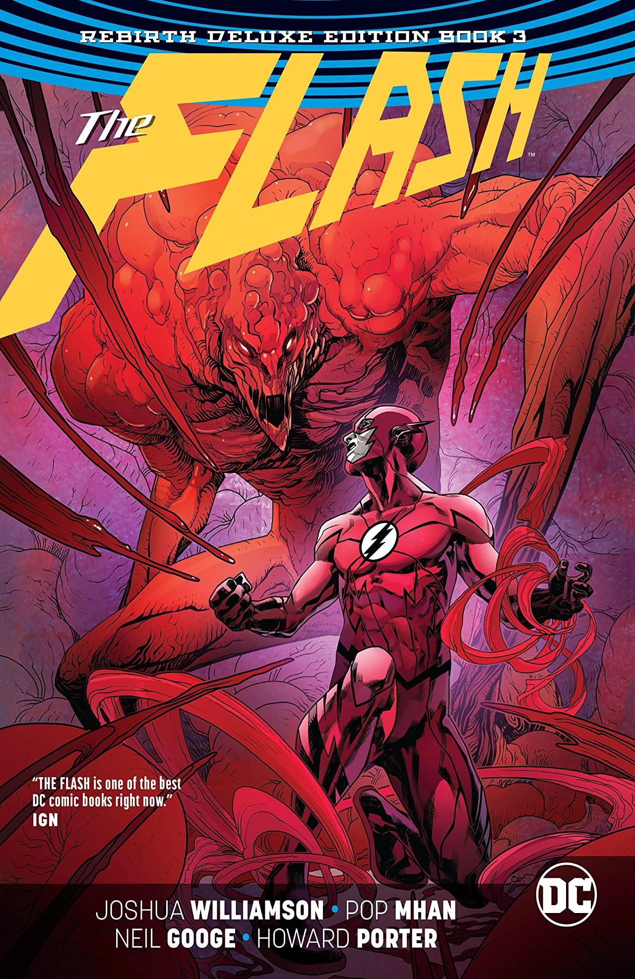 The Flash: Rebirth Deluxe Edition Book 3