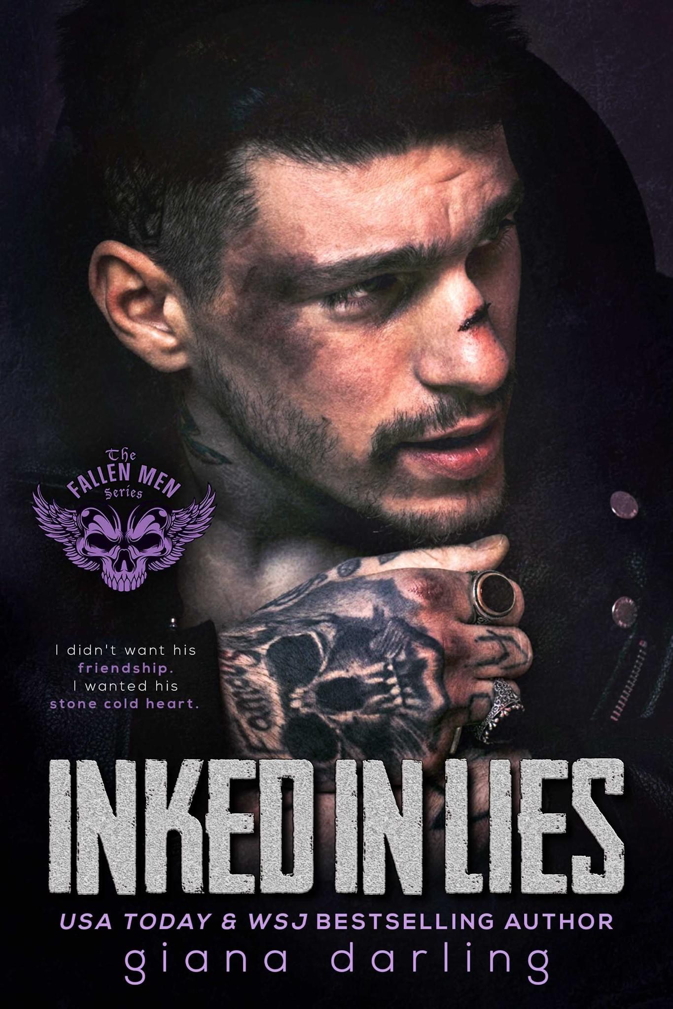 Inked in Lies (The Fallen Men, #5)