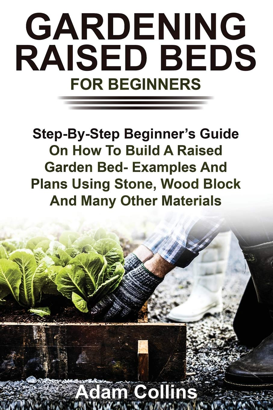 GARDENING RAISED BEDS FOR BEGINNERS: Step-By-Step Beginner's Guide On How To Build A Raised Garden Bed- Examples And Plans Using Stone, Wood Block And Many Other Materials
