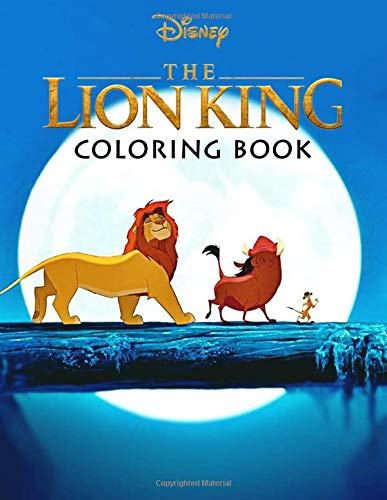 Disney The Lion King Coloring Book: Jumbo Coloring Books or All Funs Great Gifts for Kids