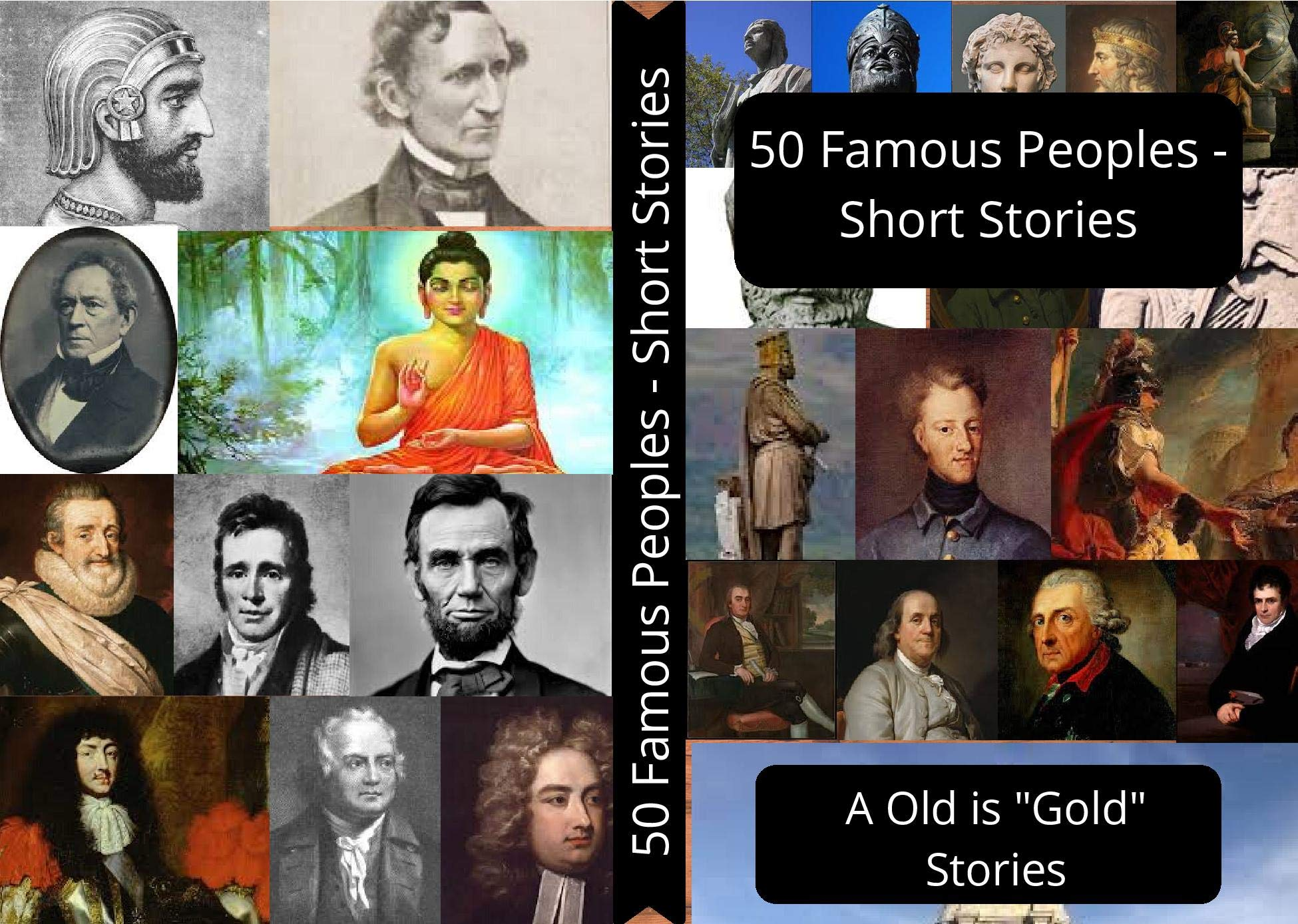 50 Famous Peoples (Illustrated): Legends Stories