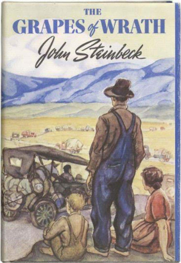 The Grapes of Wrath Novel by John Steinbeck