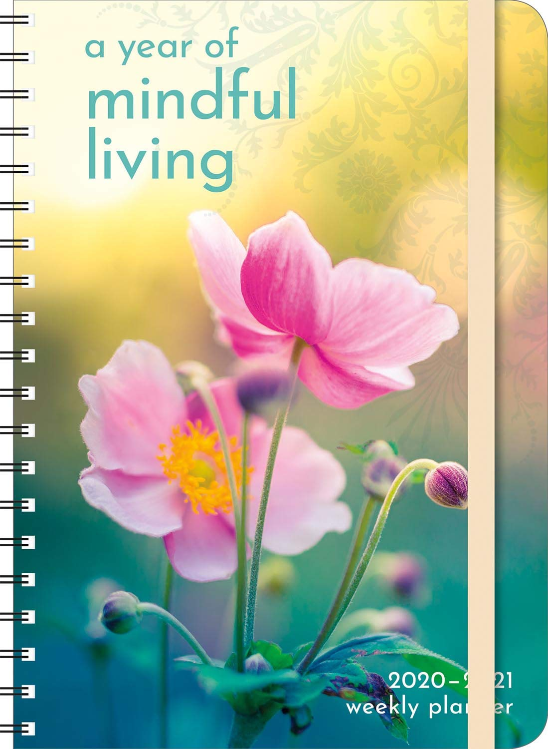 "A Year of Mindful Living 2020 - 2021 On-the-Go Weekly Planner: 17-Month Calendar with Pocket (Aug 2020 - Dec 2021, 5"" x 7"" closed)"