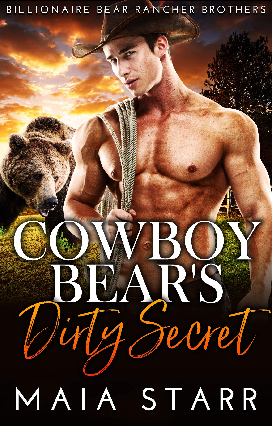 Cowboy Bear's Dirty Secret (Billionaire Bear Rancher Brothers Book 4)