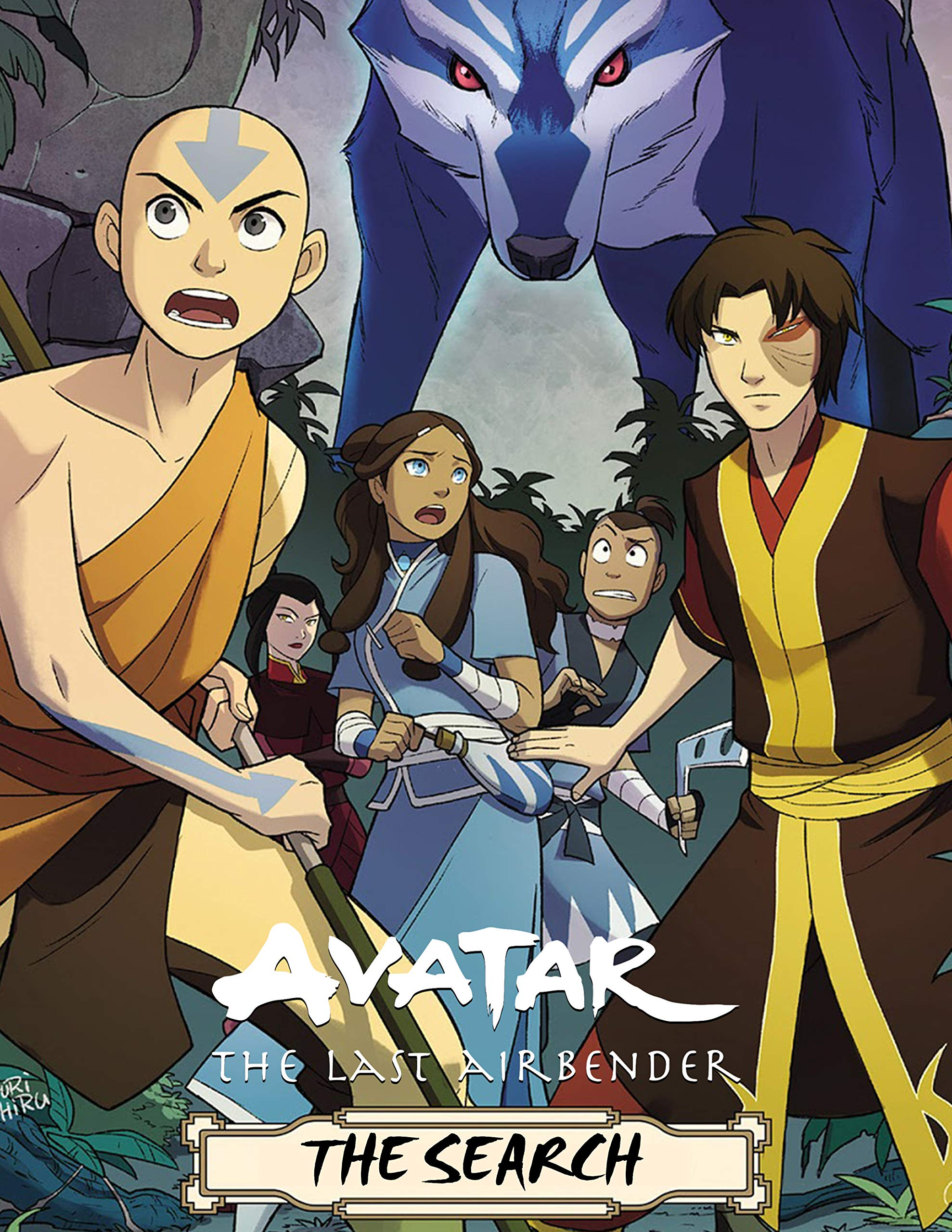 Avatar: The Last Airbender The Search Comics Book Nickelodeon Avatar