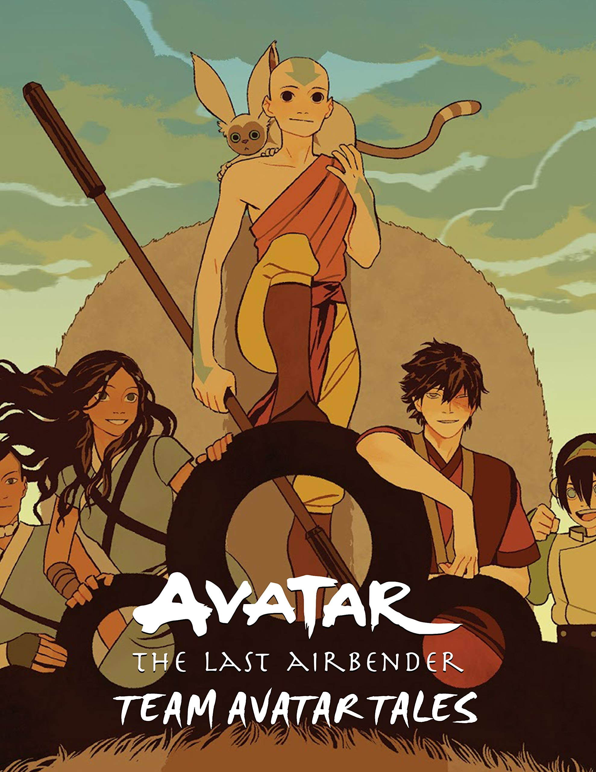 Avatar: The Last Airbender Team Avatar Tales Comics Book Nickelodeon Avatar