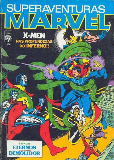 Superaventuras Marvel nº 35 - X-Men nas Profundezas do Inferno!