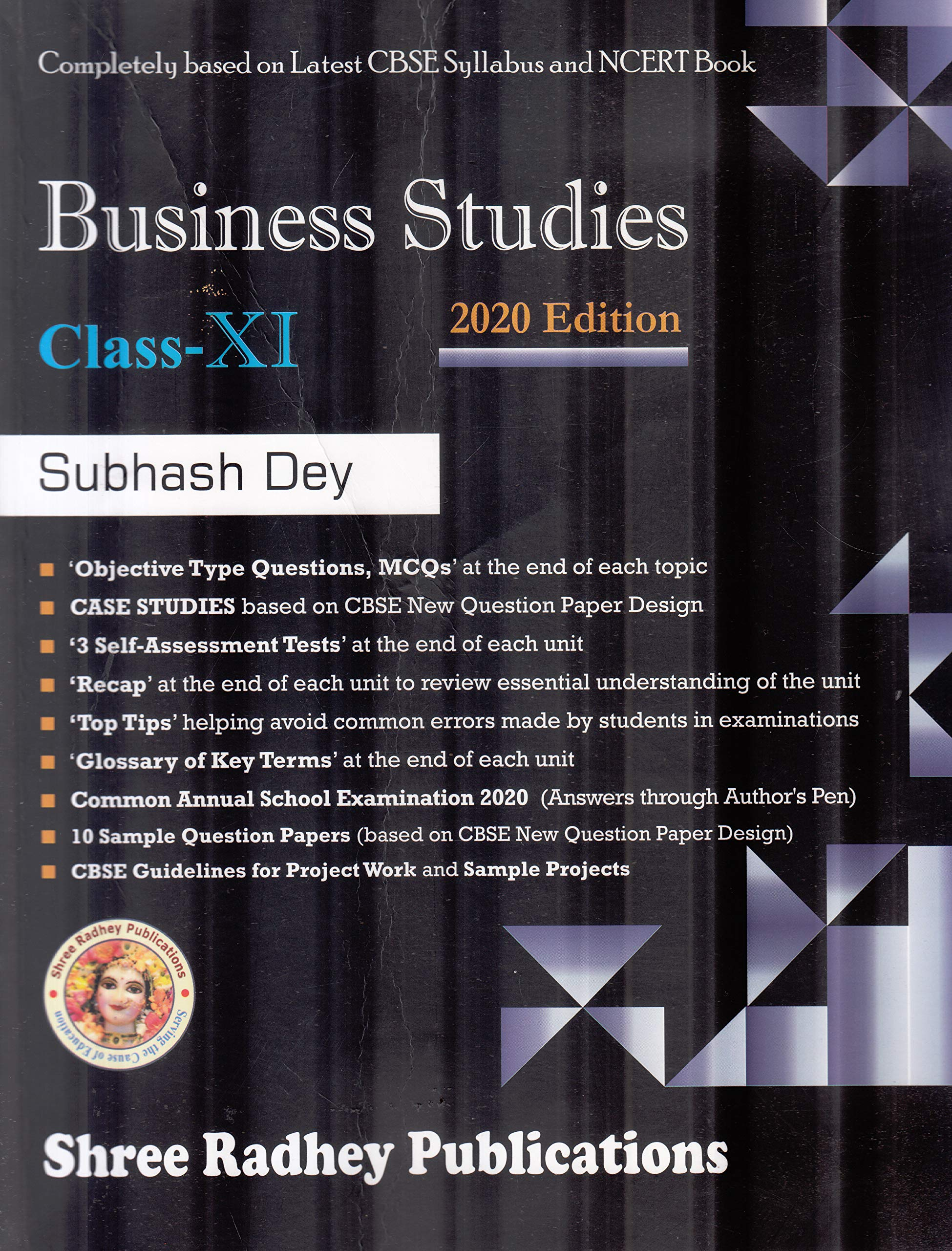 Business Studies for Class 11 (Examination 2020-2021)