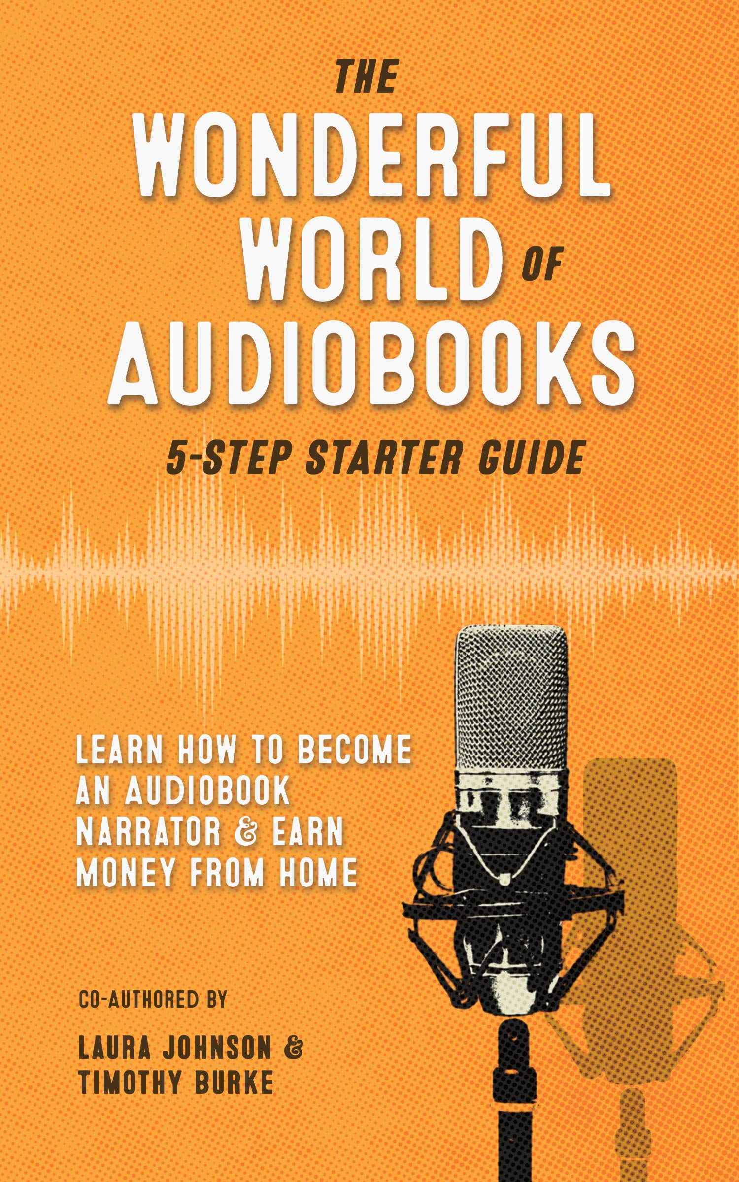 The Wonderful World of Audiobooks 5-Step Starter Guide: How to Become an Audiobook Narrator & Earn Money from Home
