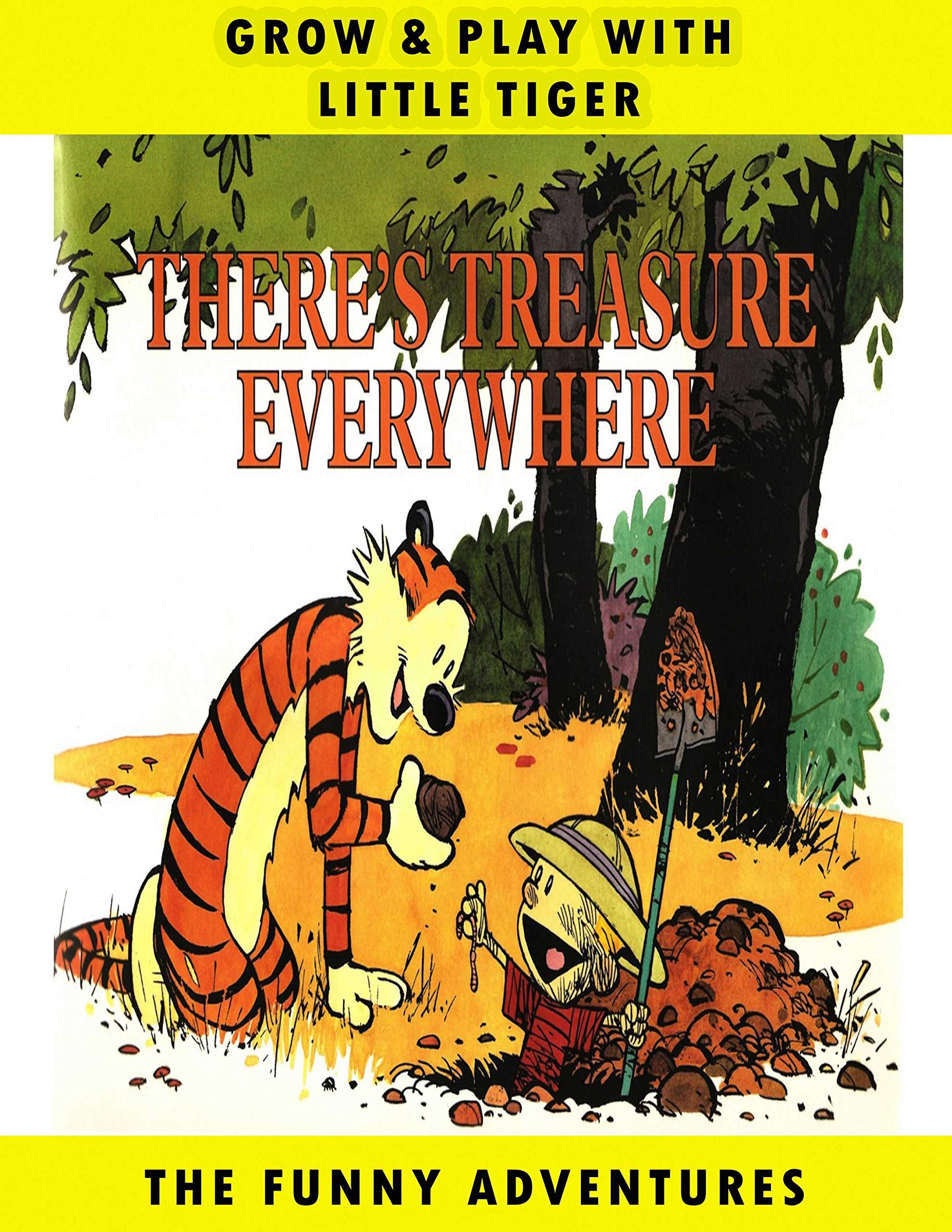 Little Tiger: Vol 10 - Great Calvin Adventure And Hobbes Cartoon Comics Books - For Kids, Boys , Girls , Fans , Adults