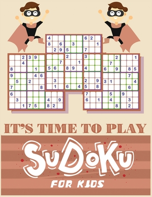 It's Time to Play: Large print Sudoku Book > If you're looking for a brain-stimulating, screen-free activity, this is the best Sudoku books for you