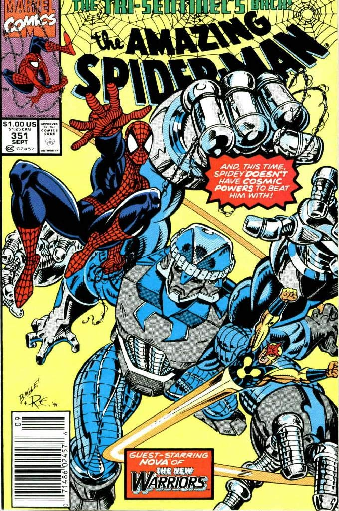 Amazing Spider: Vol 1 Issues 351 - 380 - Superheroes Avenger Team Spider-Man - Comics Books For Kids, Boys , Girls , Fans , Adults