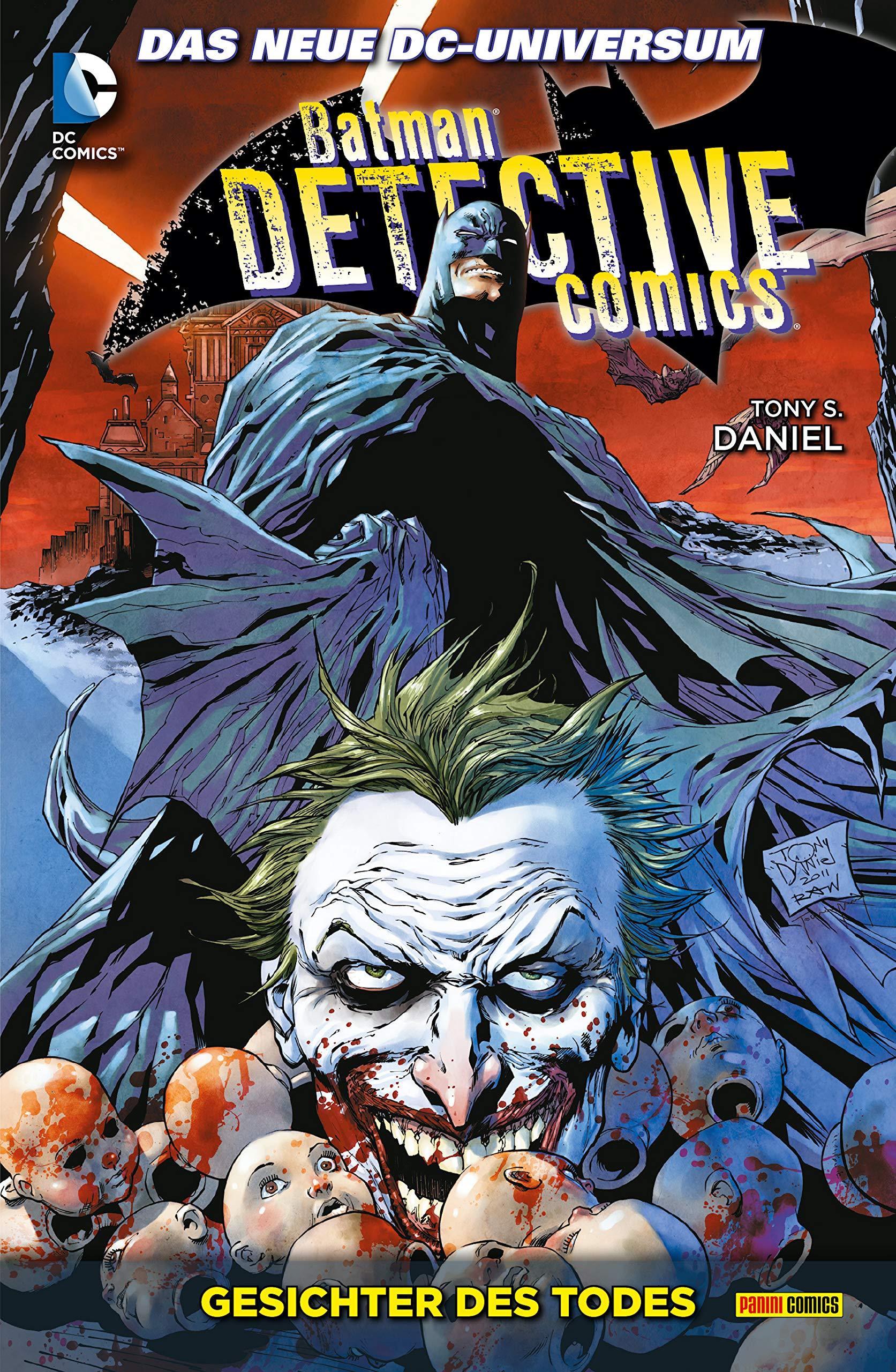 Batman - Detective Comics - Gesichter des Todes