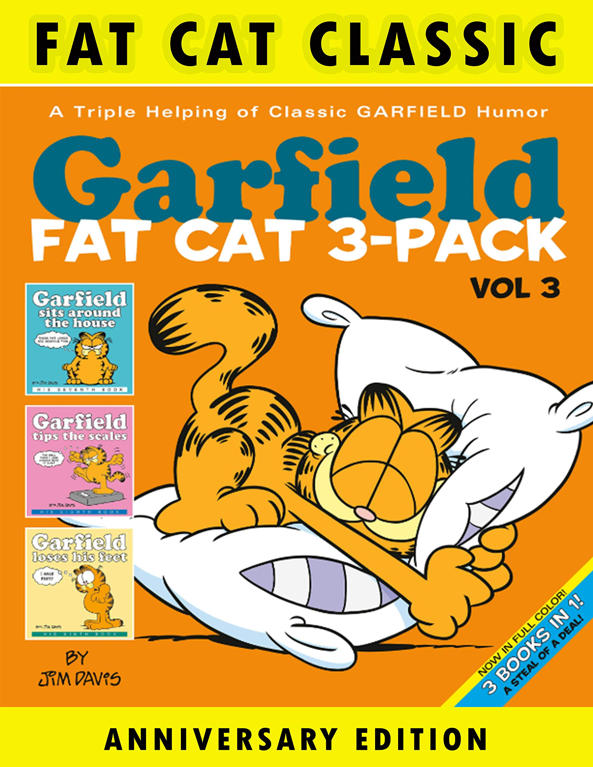 Cat Classic: Collection Book 1 -Great Fat Cat - Cartoon Garfield Comics - Books For Kids- Boys - Girls - Fans - Adults