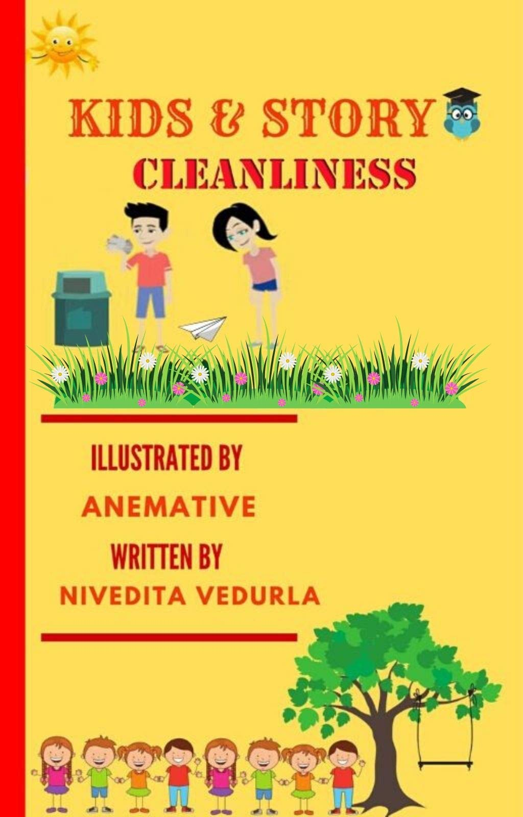 Kids and Story Cleanliness: : Book 3 Short Moral Story Illustrated for kids