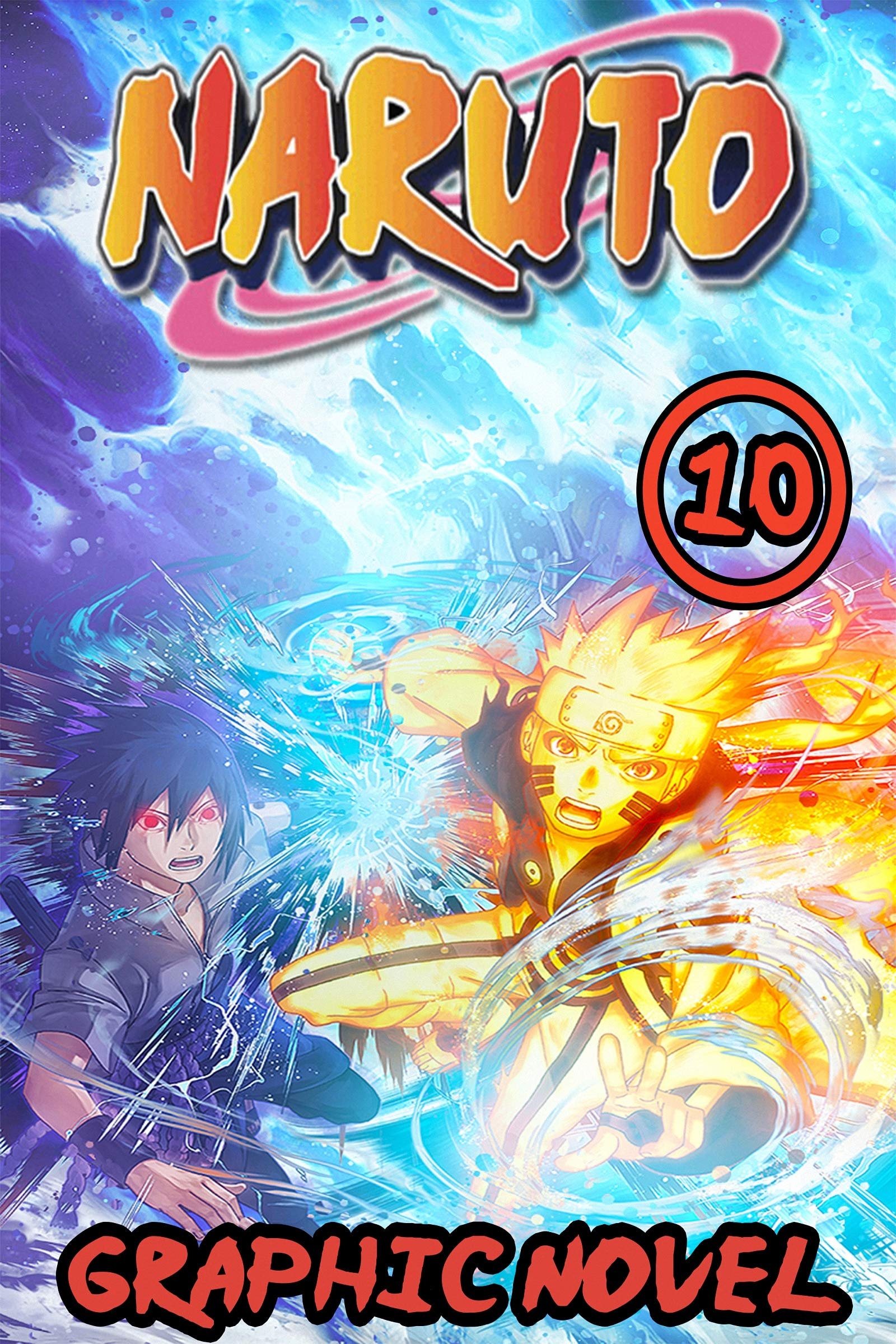 Naru: Book 10 Includes Vol 28 - 29 - 30 - Great Shonen Manga Naruto Action Graphic Novel For Adults, Teenagers, Kids, Manga Lover