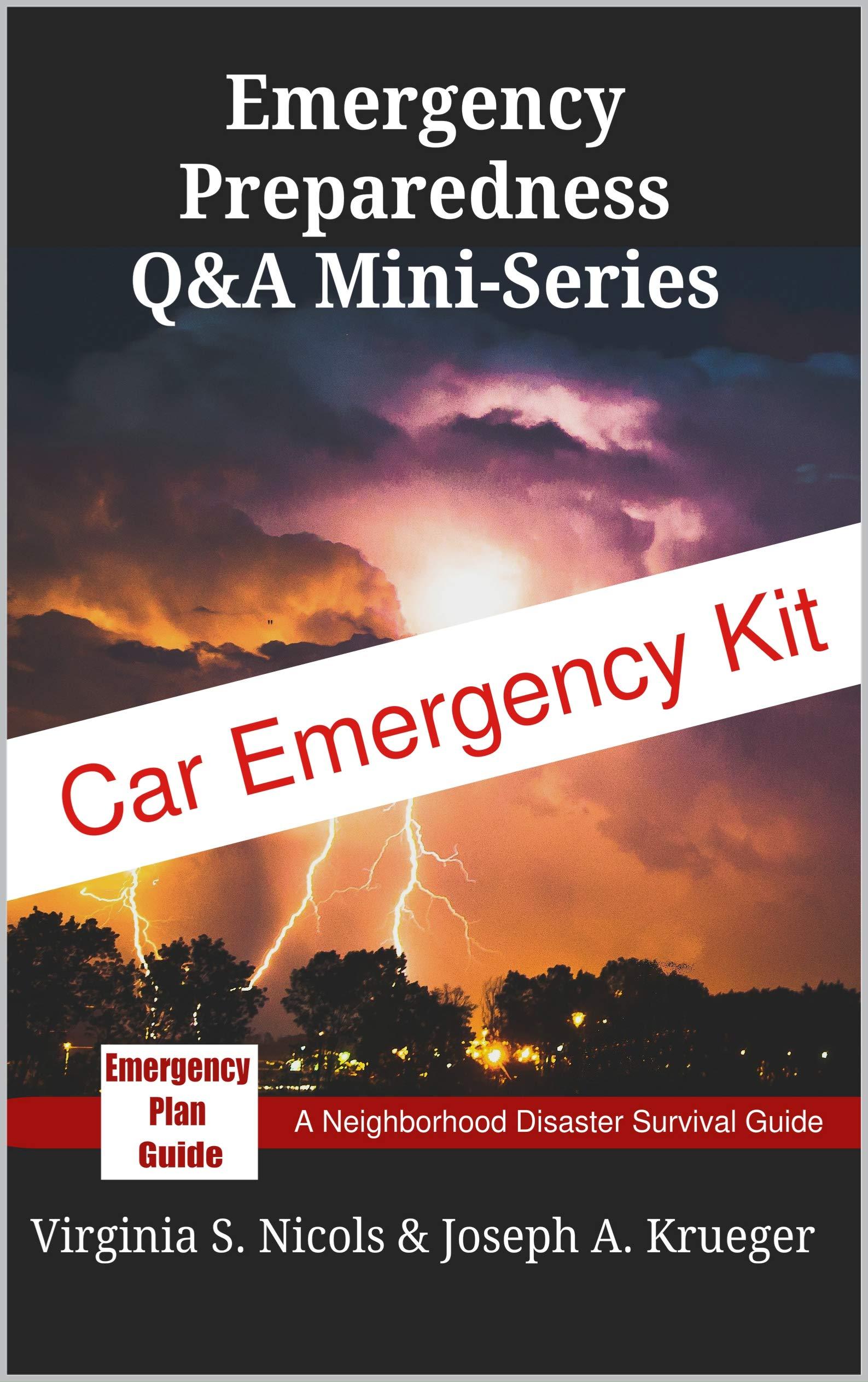 Car Emergency Kit: Emergency Plan Guide Q&A Mini-Series (Personal Preparedness Mini-Series Book 8)