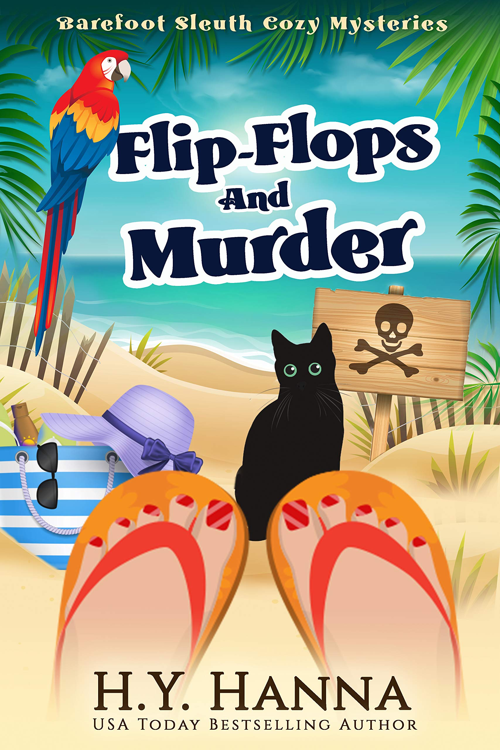 Flip-Flops and Murder (Barefoot Sleuth #1)