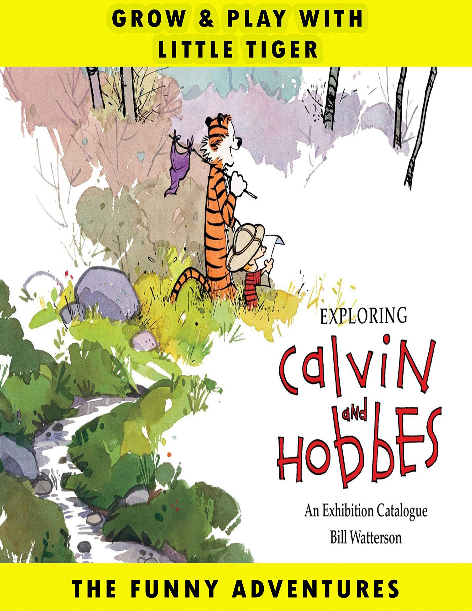 Little Tiger: Vol 14 - Great Calvin Adventure And Hobbes Cartoon Comics Books - For Kids, Boys , Girls , Fans , Adults