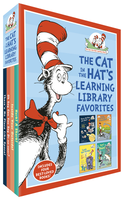 The Cat in the Hat's Learning Library Favorites: There's No Place Like Space!; Oh Say Can You Say Di-No-Saur?; Inside Your Outside!; Hark! a Shark!