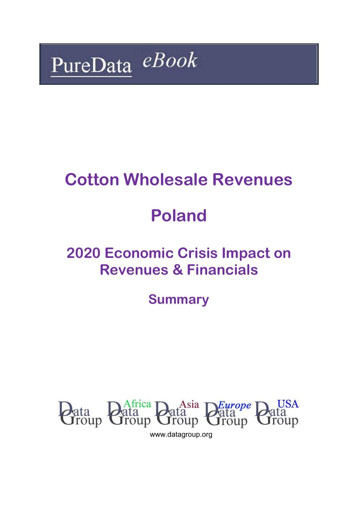Cotton Wholesale Revenues Poland Summary: 2020 Economic Crisis Impact on Revenues & Financials