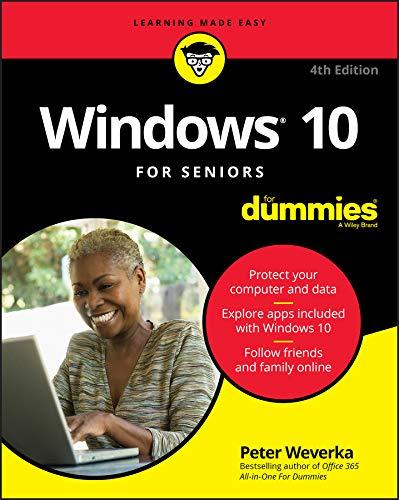 Windows 10 For Seniors For Dummies (For Dummies