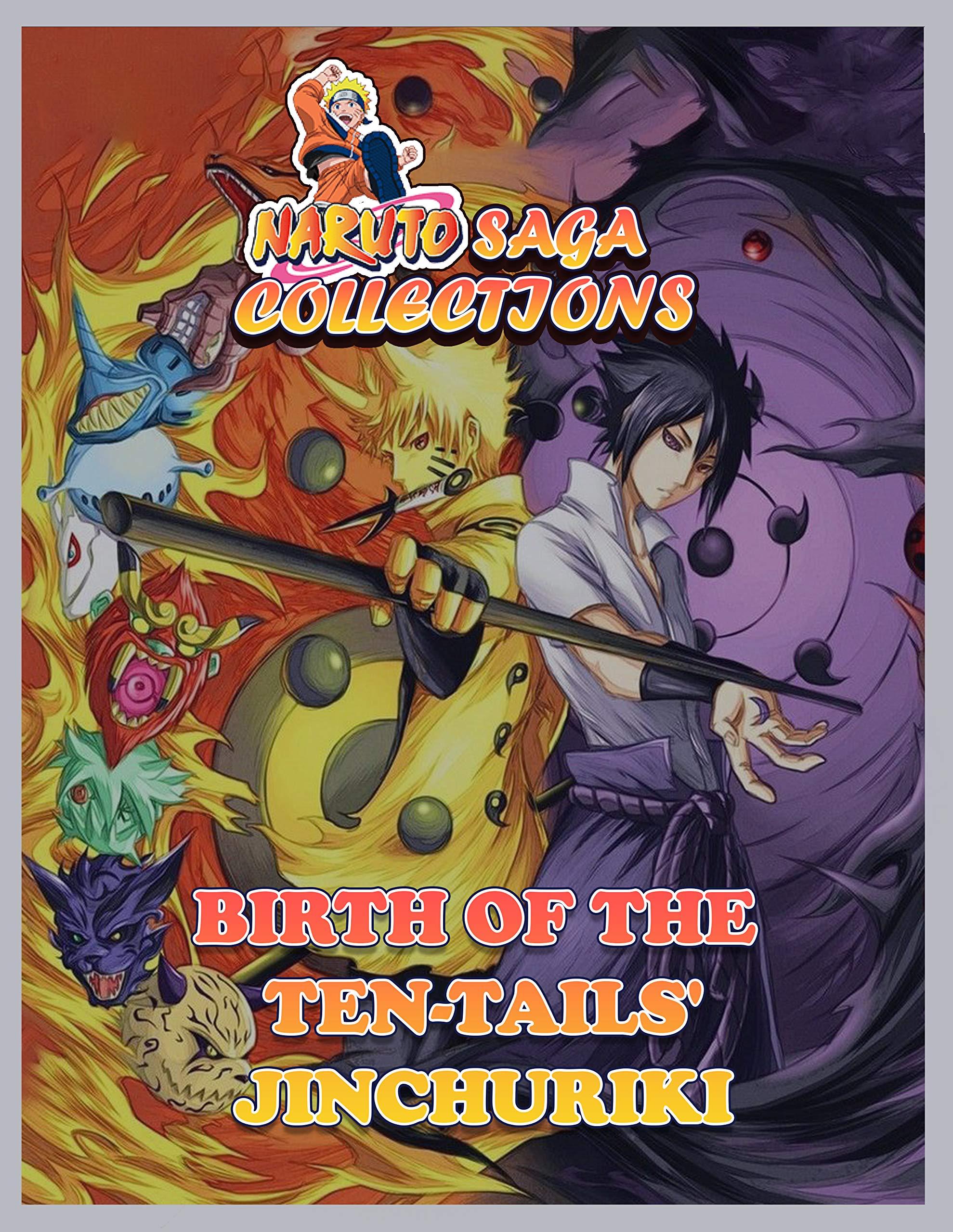 Manga Saga Collections: Naruto Birth of the Ten-Tails' Jinchuriki 18