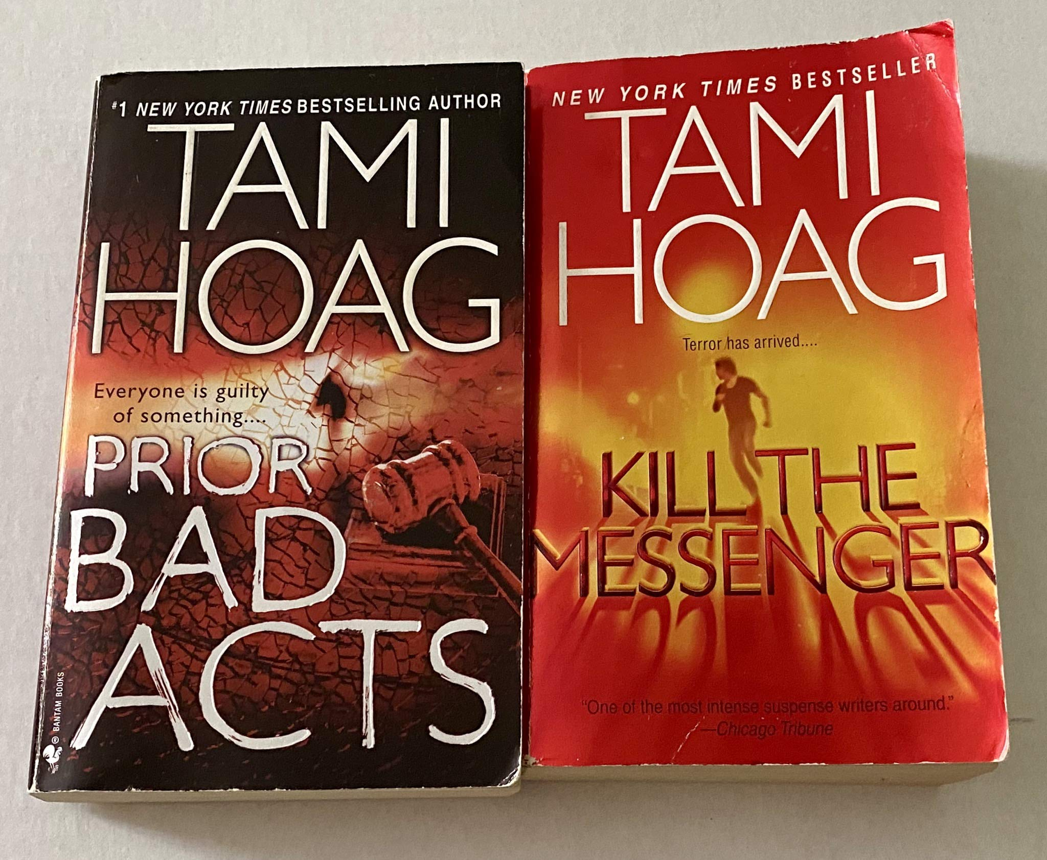 2 Books! 1) Prior Bad Acts 2) Kill the Messenger