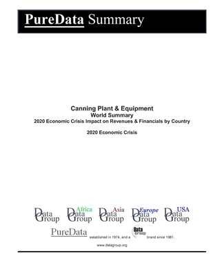Canning Plant & Equipment World Summary: 2020 Economic Crisis Impact on Revenues & Financials by Country