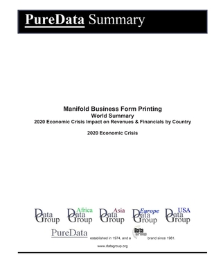 Manifold Business Form Printing World Summary: 2020 Economic Crisis Impact on Revenues & Financials by Country