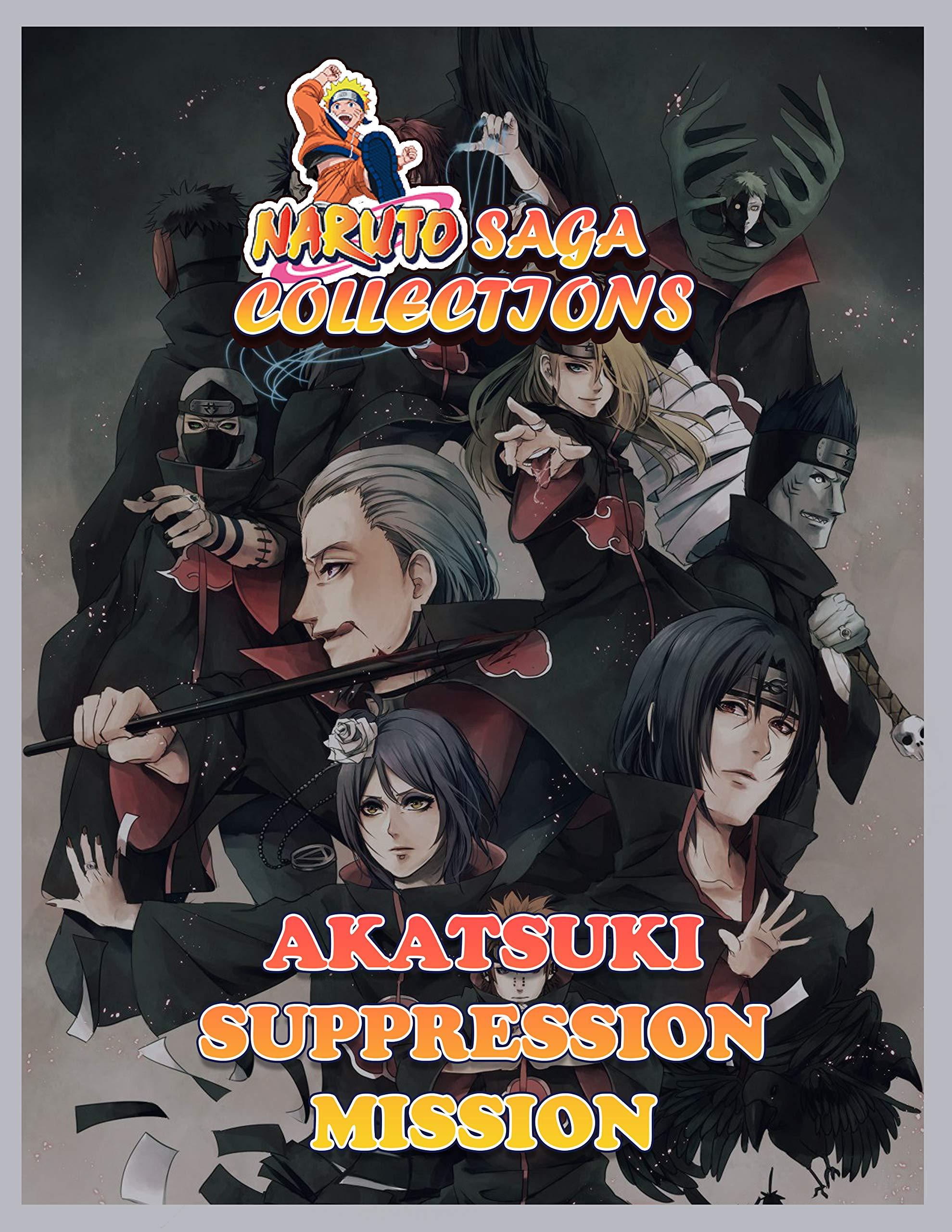 Manga Saga Collections: Naruto Akatsuki Suppression Mission Vol 9