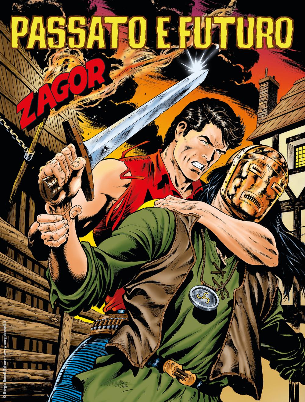 Zagor, albo n. 712: Passato e futuro