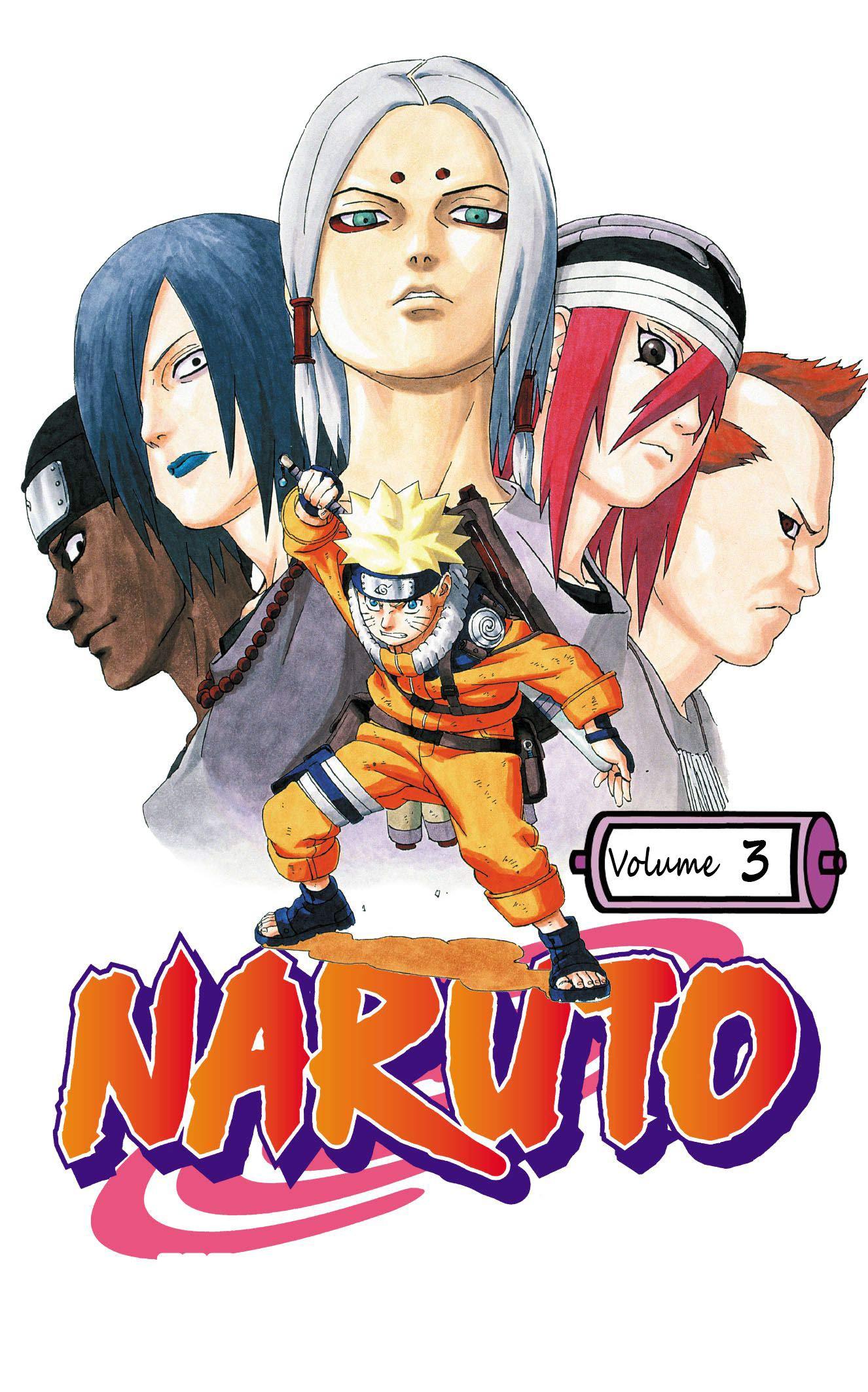 Naruto Uzumaki: Volume 3