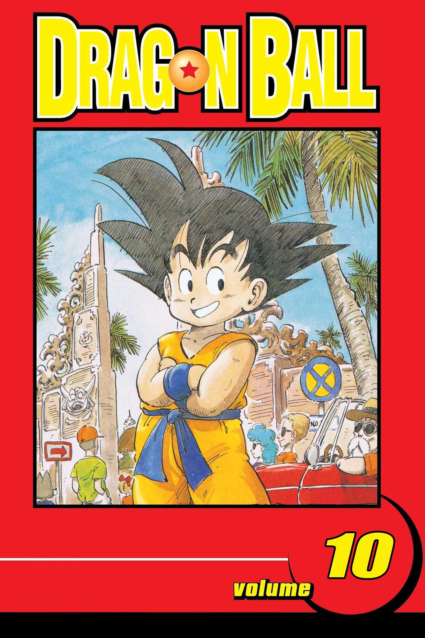 Dragon Ball Full series: Manga volume 10