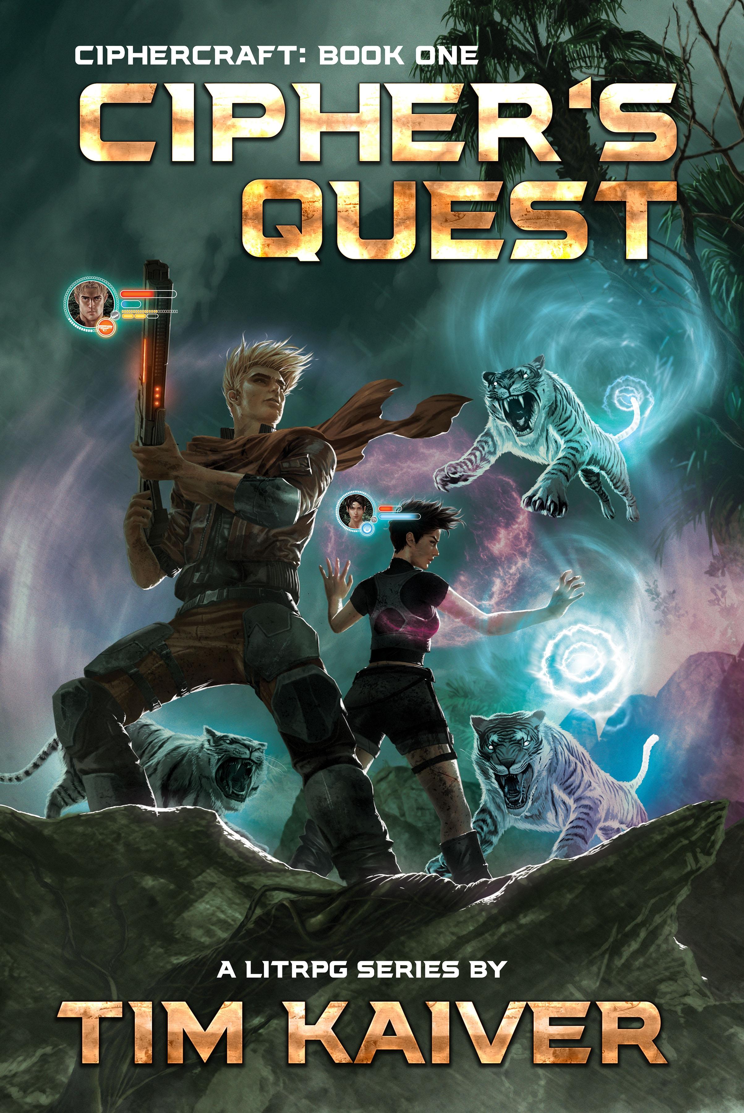 Cipher's Quest: (A Scifi Fantasy LitRPG) (Ciphercraft Book 1)