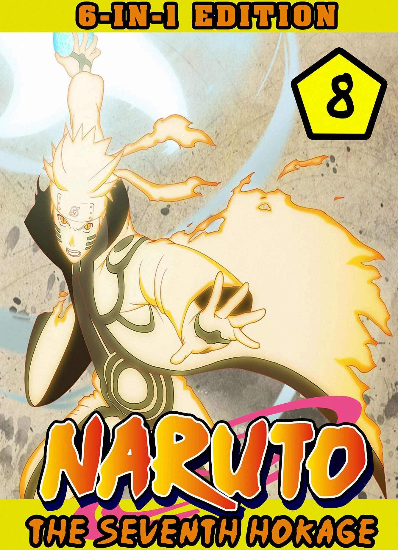 Seventh Hokage: 6-in-1 Edition Collection Book 8 - Shonen Action Ninja Manga Naruto Graphic Novel