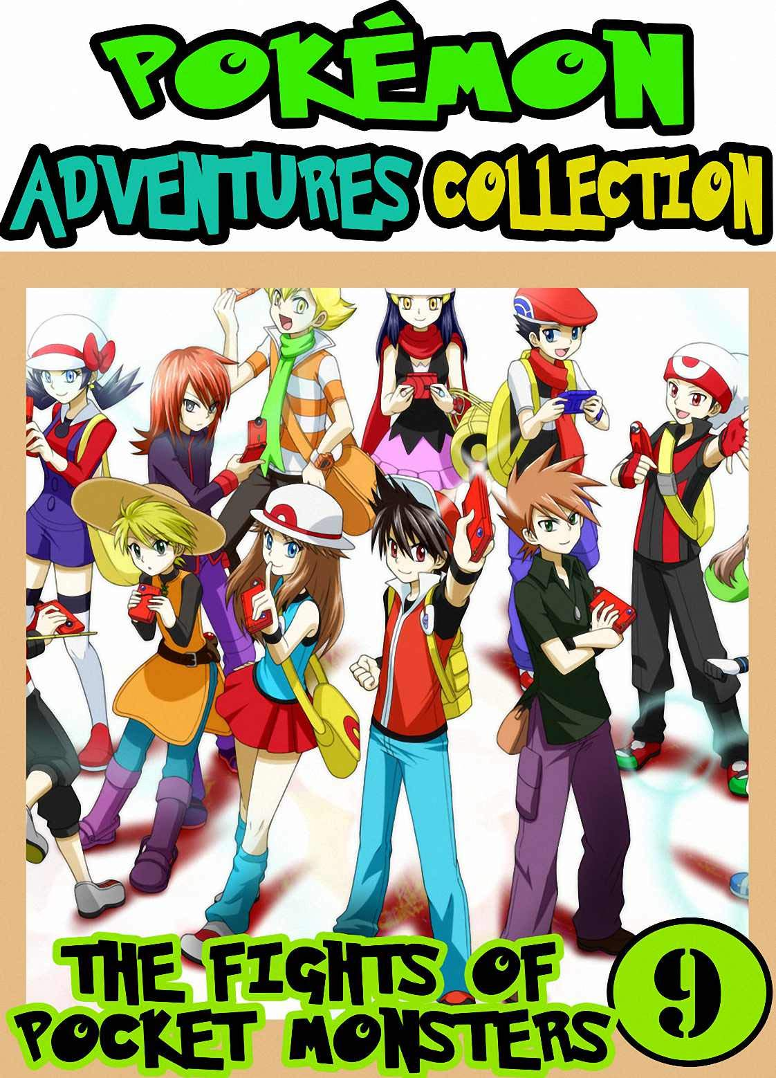 Pocket Fights: Collection 9 - Manga Pokemon Collection Adventures Graphic Novel For Boys, Girls, Kids