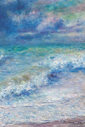 "Journal: Blank Lined Journal for Writing, Seascape (1897) by Pierre-Auguste Renoir, 6x9"", 120 Pages (Art by Pierre-Auguste Renoir - Series)"