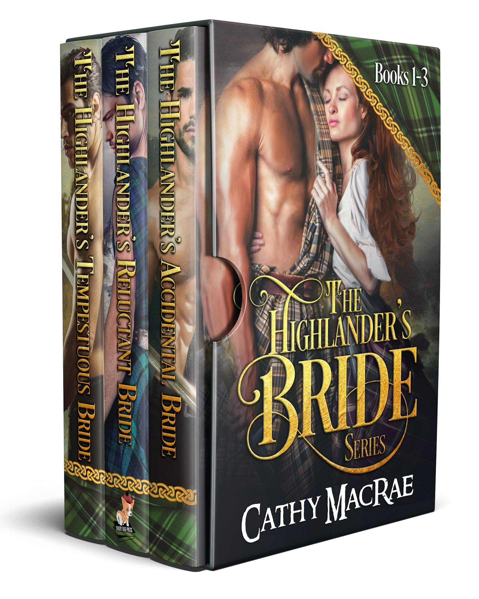 The Highlander's Bride Series: Books 1-3: A Scottish Historical Romance boxed set