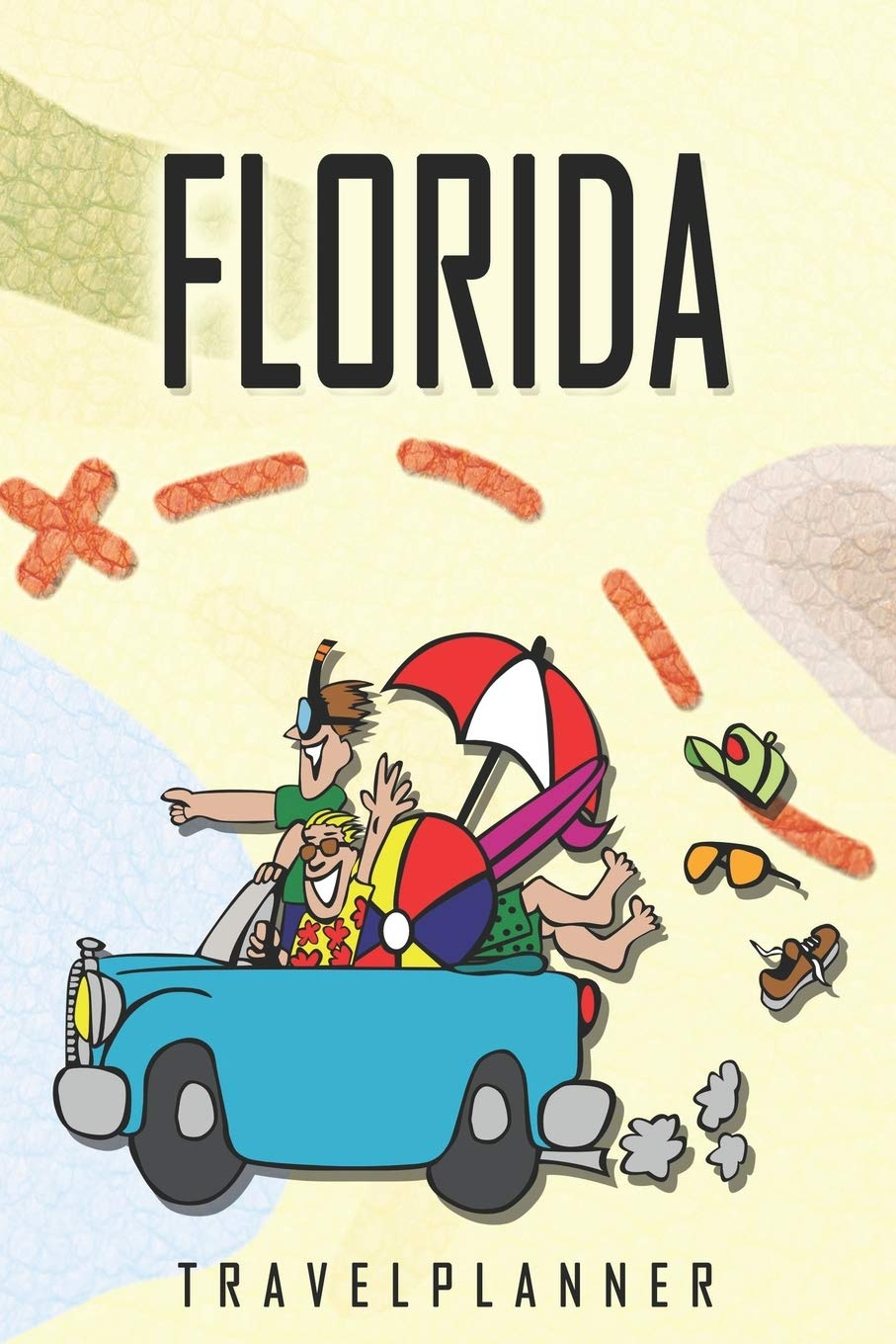 Florida Travelplanner: Travel Diary for Florida. A logbook with important pre-made pages and many free sites for your travel memories. For a present, notebook or as a parting gift