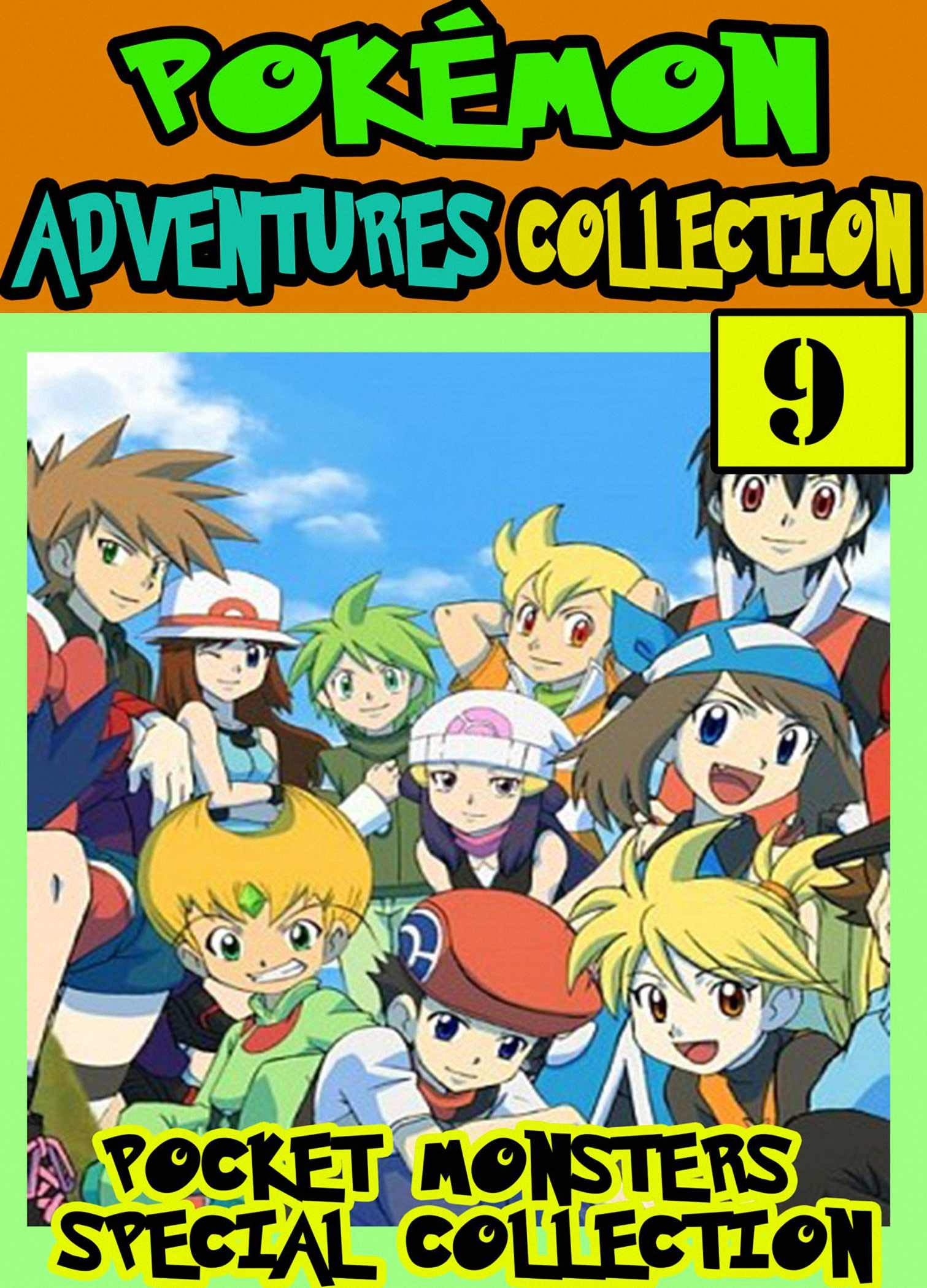 Pocket Special: Collection Book 9 - Manga Pokemon Special Adventures Graphic Novel For Kids