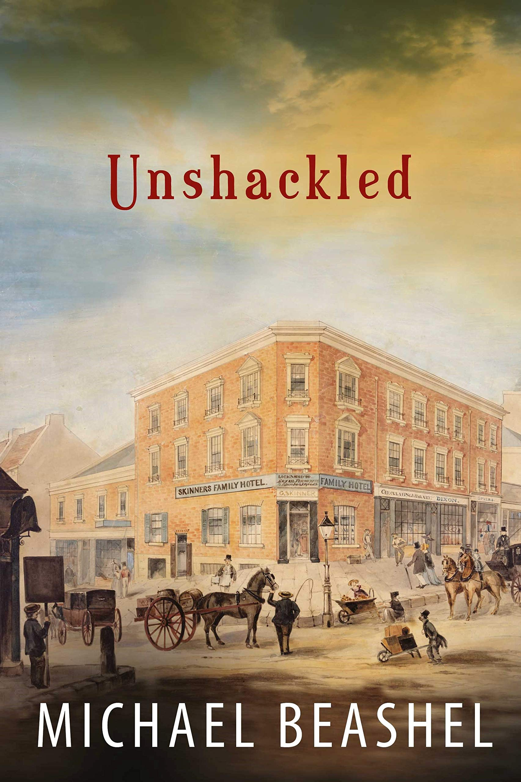 Unshackled: Australian Historical Fiction Novel