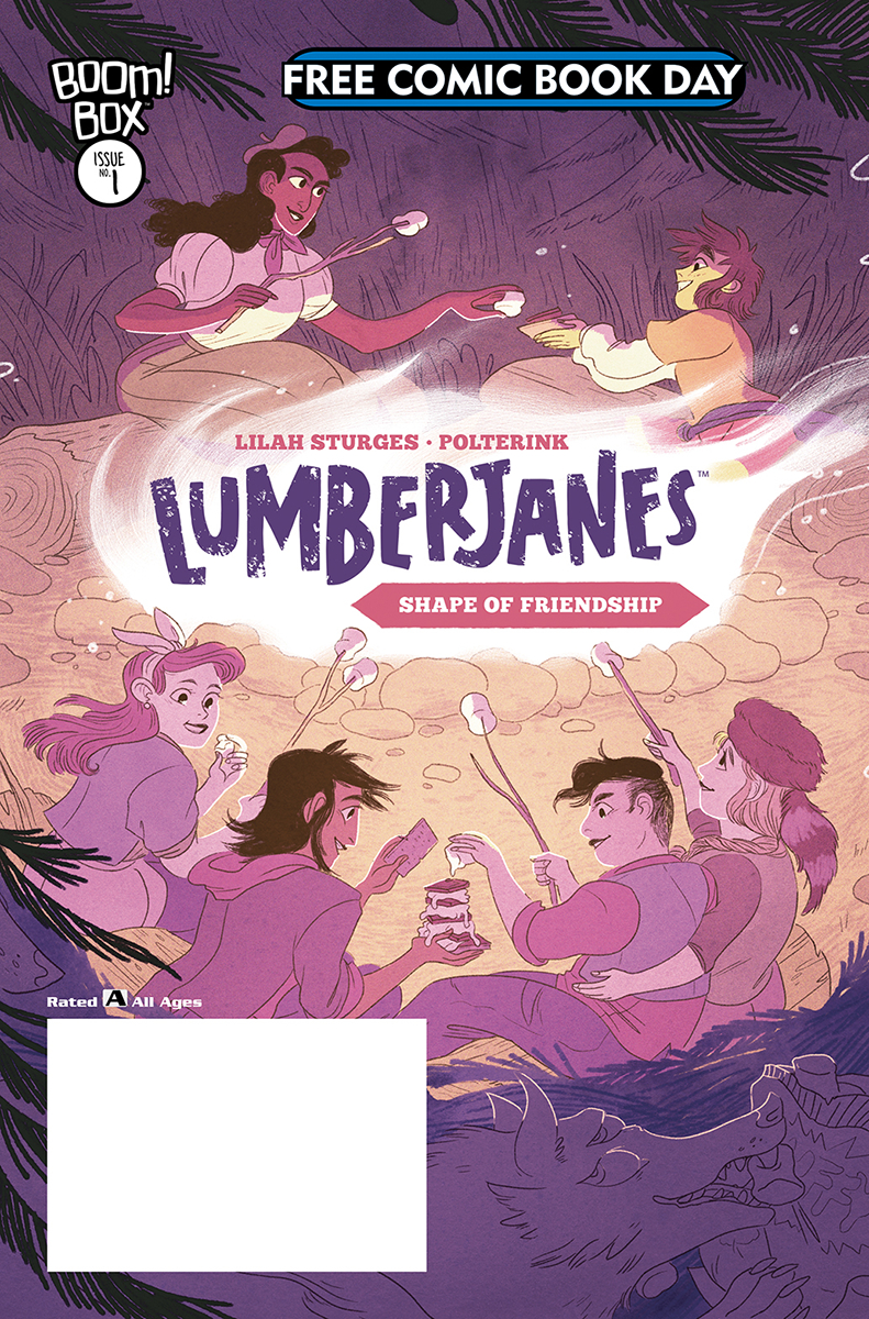 Lumberjanes: The Shape of Friendship Free Comic Book Day