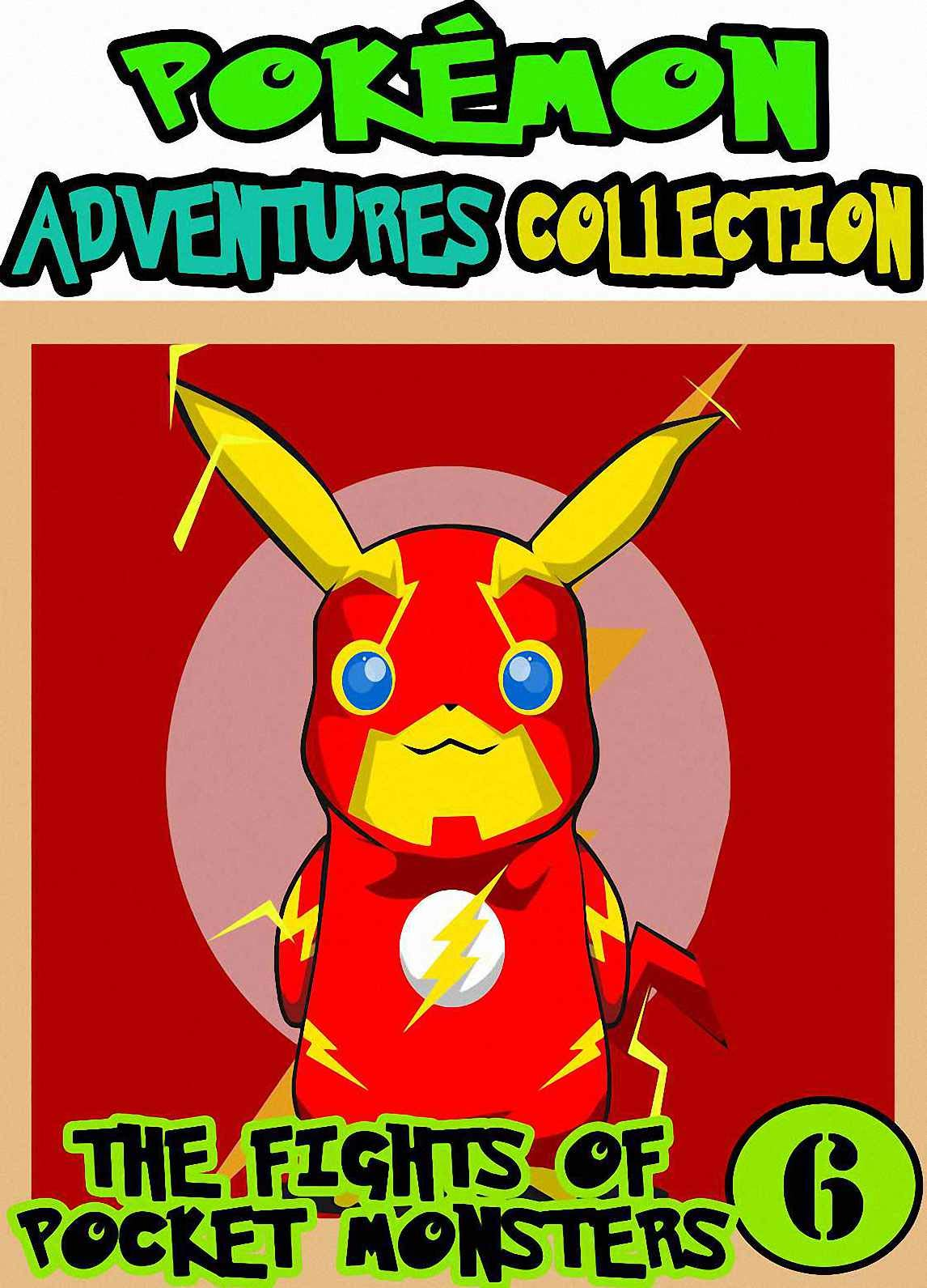 Pocket Fights: Collection 6 - Manga Pokemon Collection Adventures Graphic Novel For Boys, Girls, Kids